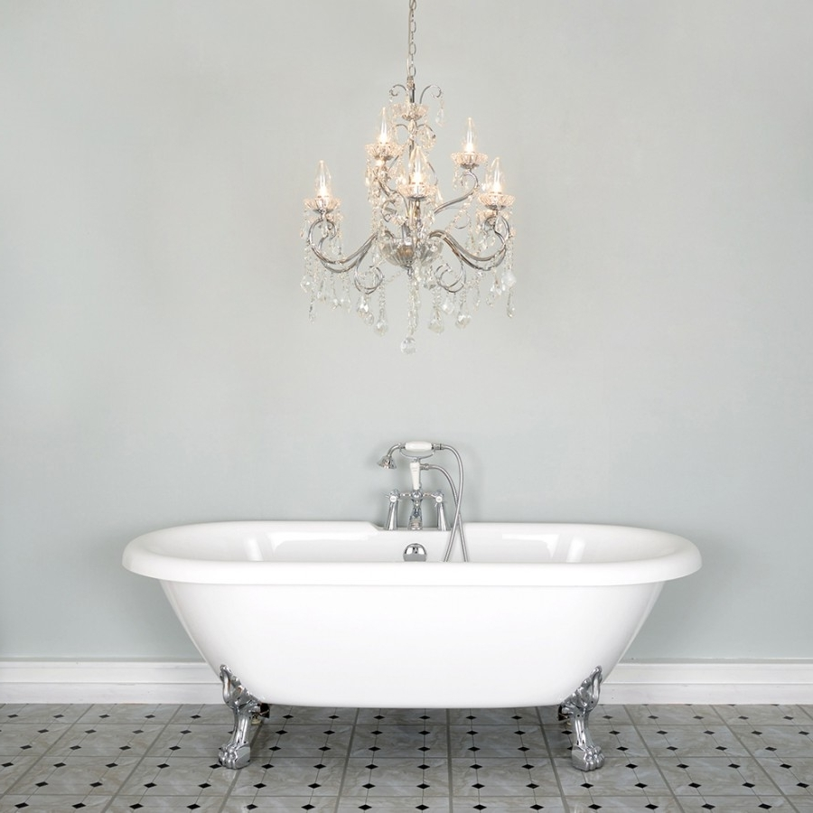 Mini Bathroom Chandeliers Regarding Well Liked Chandelier (View 8 of 15)