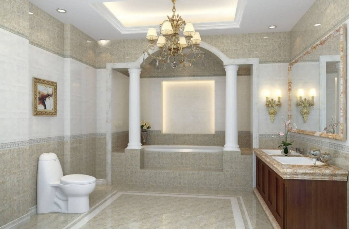 Modern Bathroom Chandeliers Throughout Recent Modern Bathroom Chandeliers – Chandelier Designs (View 9 of 15)