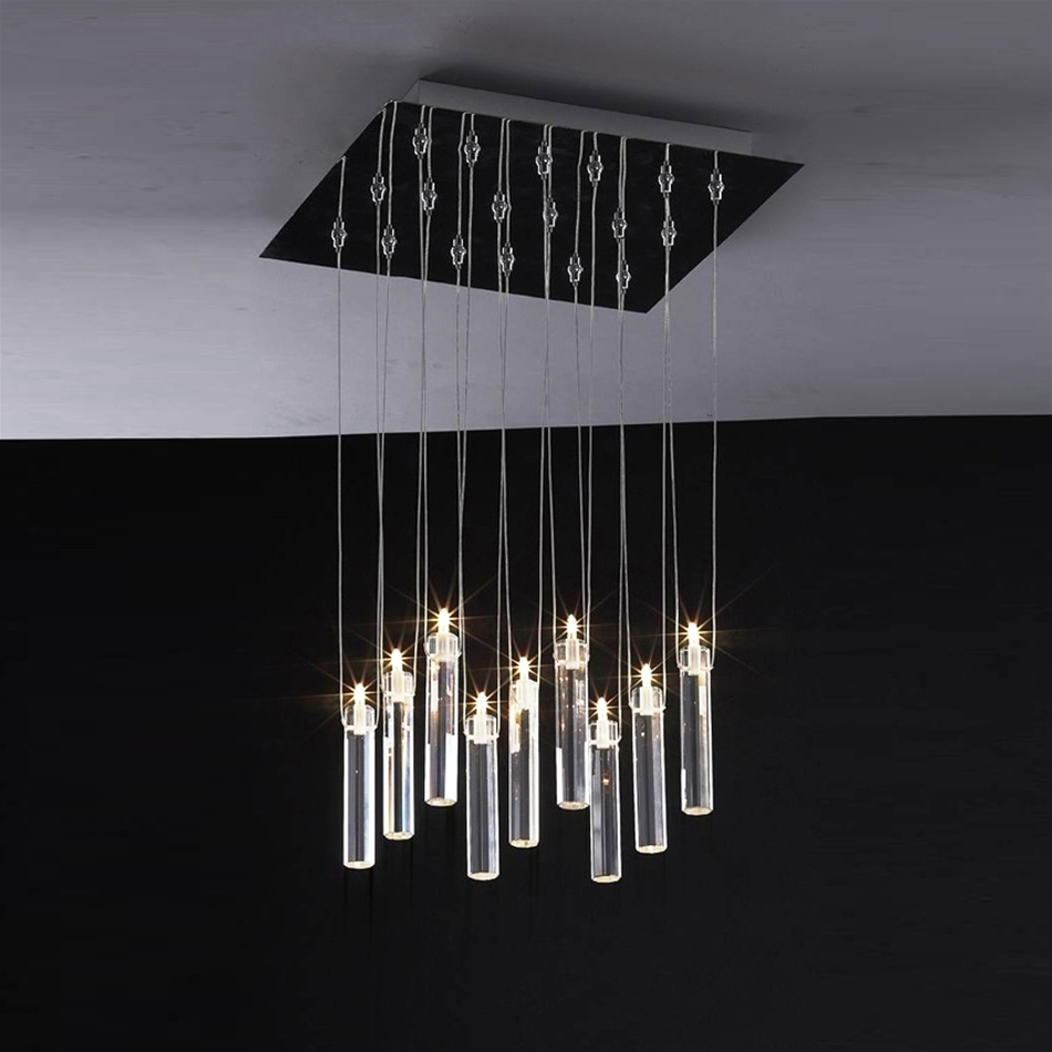 Modern Chandelier Lighting In Most Popular Contemporary Chandelier Light Fixtures : Antique Contemporary (View 7 of 15)
