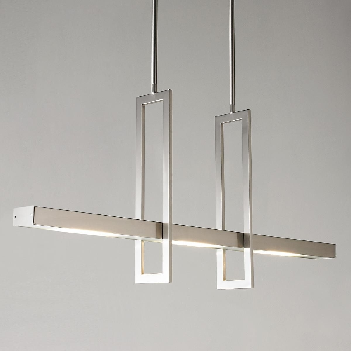 Modern Chandelier Pertaining To Well Known Energy Efficient Modern Balance Beam Led Linear Chandelier (View 7 of 15)
