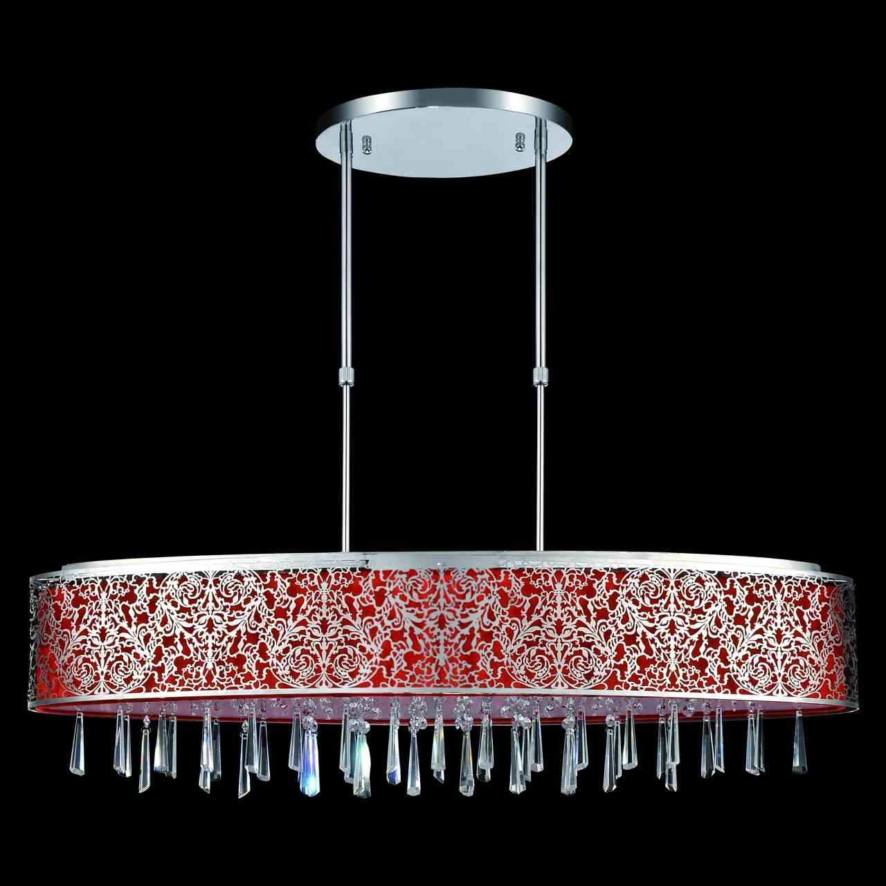 Modern Red Chandelier Throughout Most Recently Released Brizzo Lighting Stores (View 10 of 15)