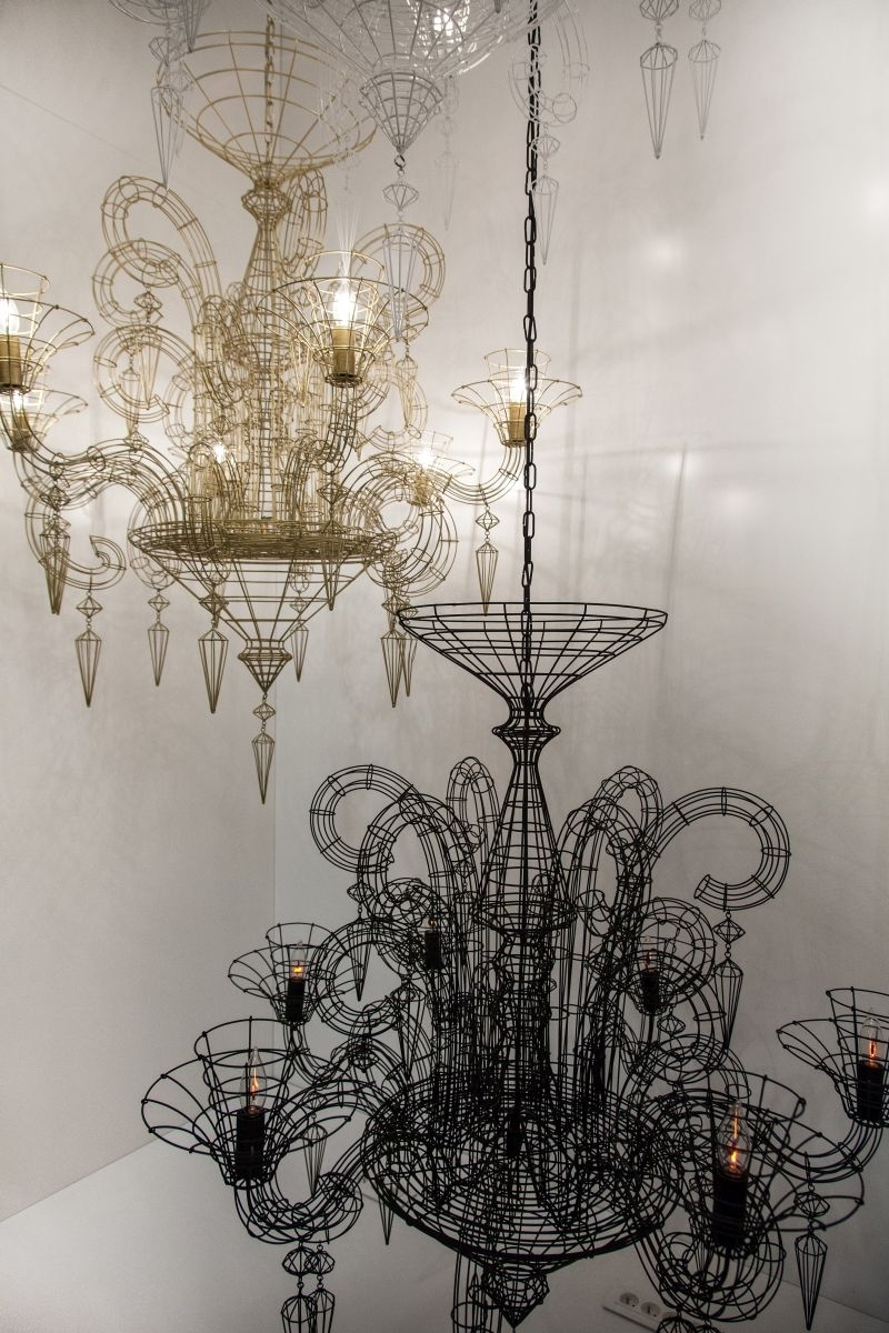 Modern Small Chandeliers For Newest Light Fixture : Wood Chandeliers For Dining Room Small Chandeliers (View 14 of 15)