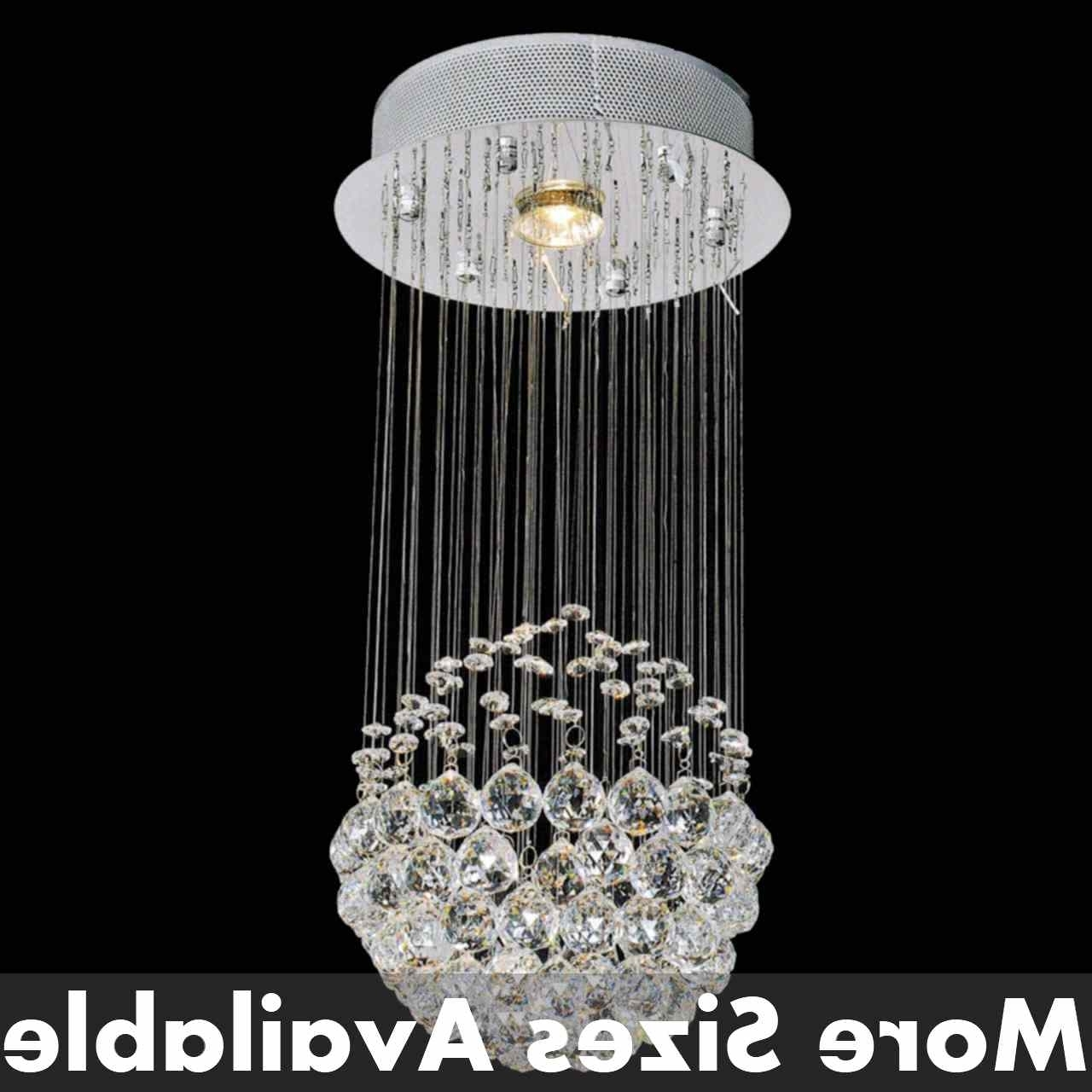 Modern Small Chandeliers With Regard To Well Known Brizzo Lighting Stores (View 11 of 15)
