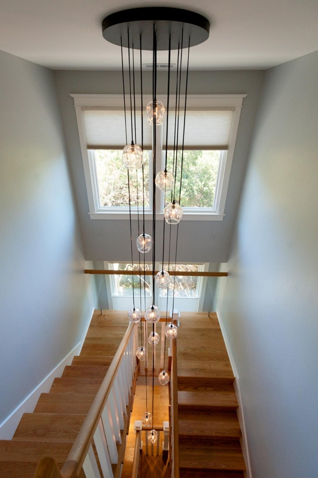 Modern Stairwell Chandeliers (View 15 of 15)
