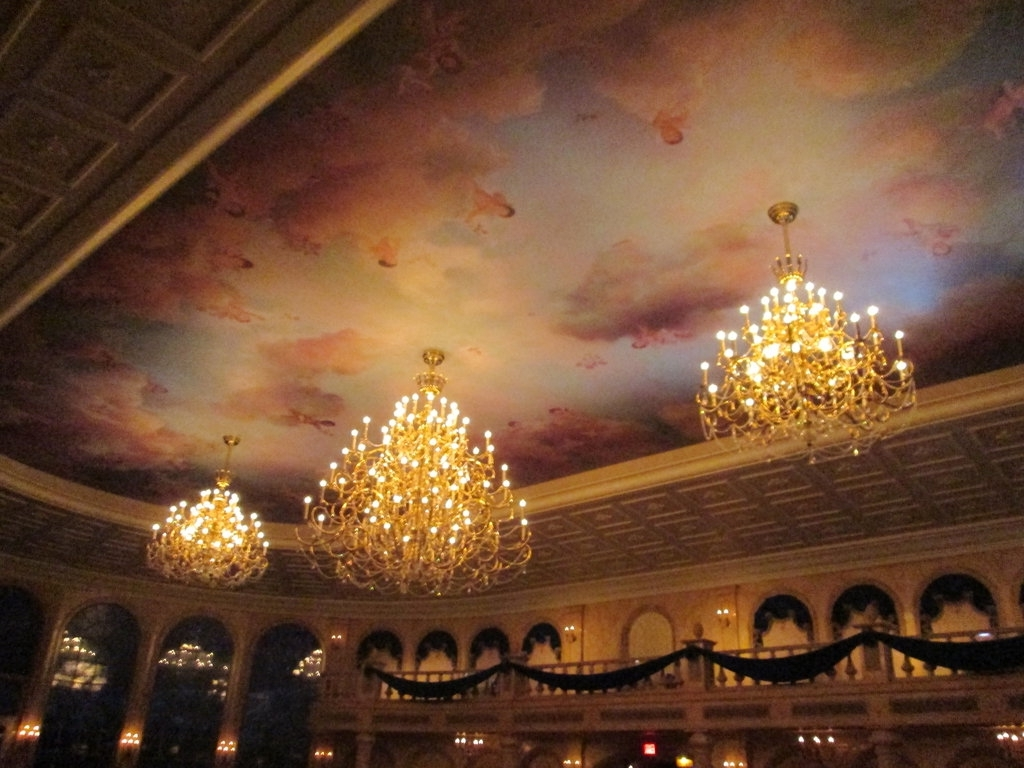 Most Current Be Our Guest Restaurant Chandelierrenthegodofhumor On Deviantart Inside Restaurant Chandelier (View 4 of 15)