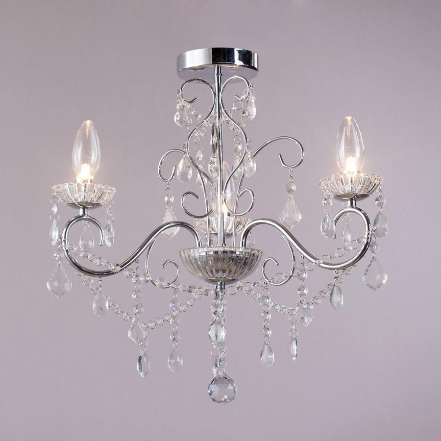 Most Current Chandelier: Extraordinary Home Depot Crystal Chandelier Lighting Within Small Chandeliers For Low Ceilings (View 7 of 15)