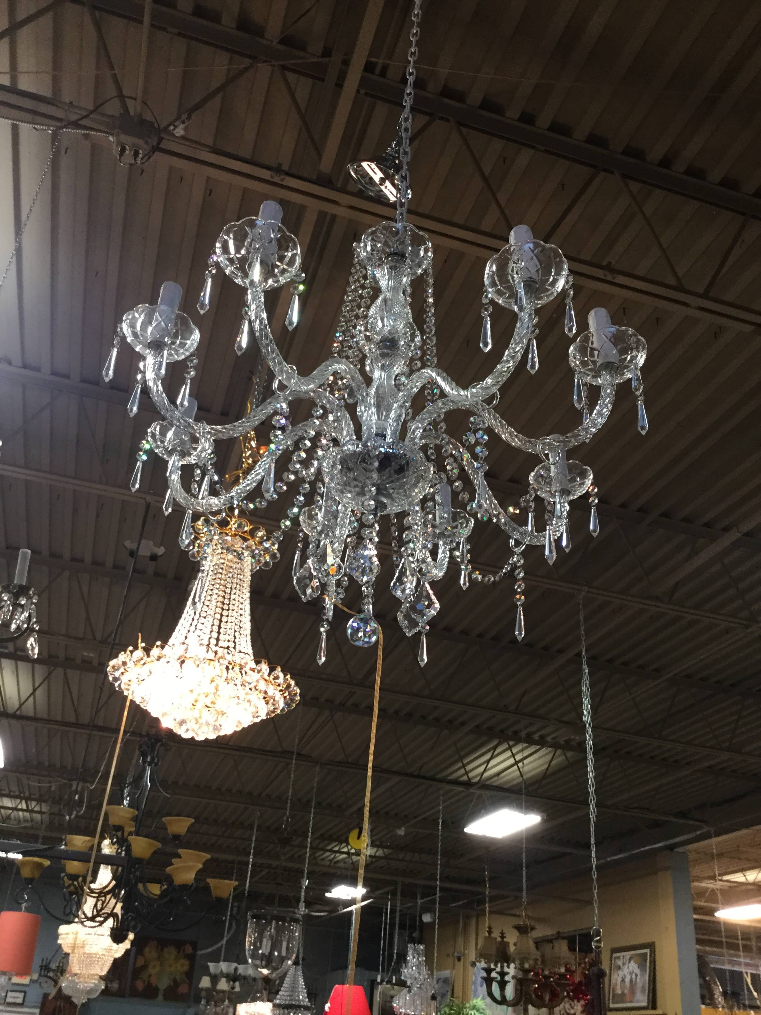 Most Current Chandelier : Gold Chandelier Glass Chandelier Chandelier Lamp Tree With Simple Glass Chandelier (View 15 of 15)