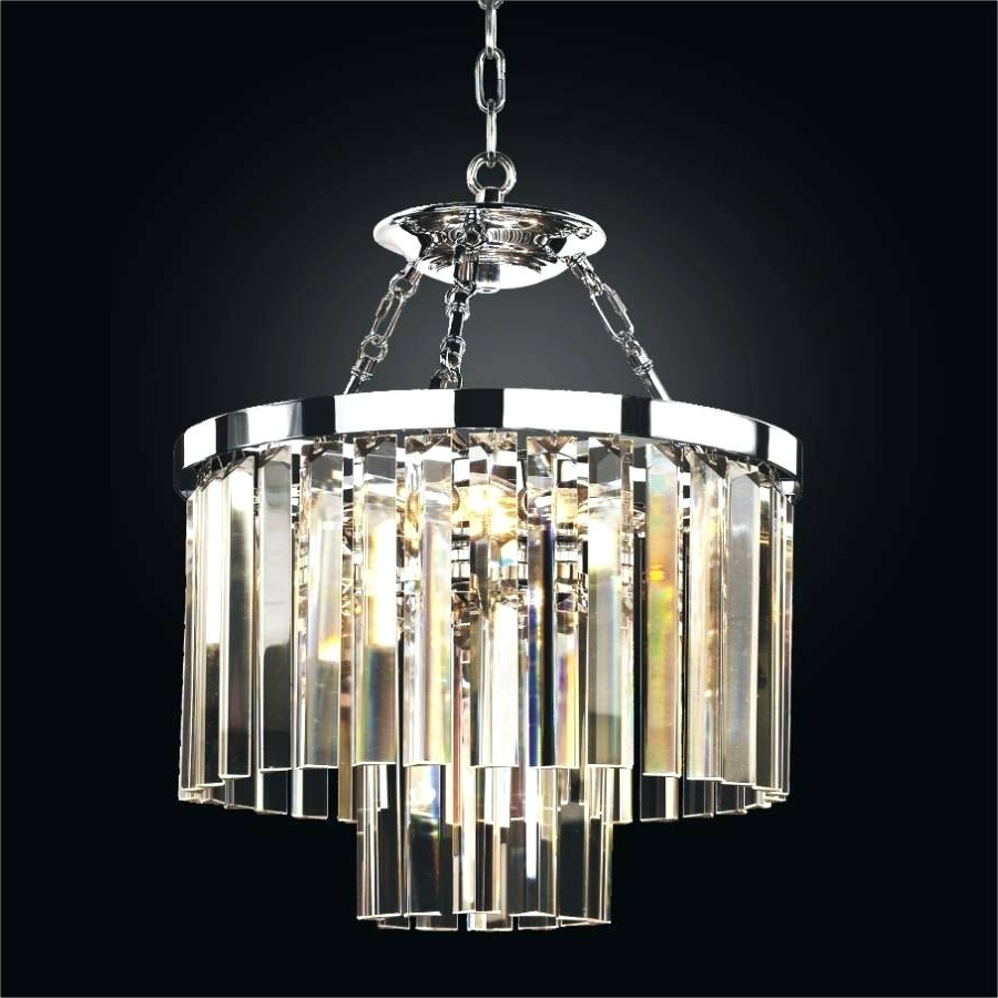 Most Current Chandeliers Design : Marvelous Small Crystal Chandelier Eriska Drop Inside Short Chandeliers (View 6 of 15)