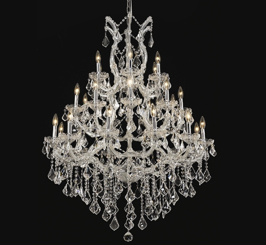 Most Current Extra Large Crystal Chandeliers In Maria Theresa Collection 28 Light Extra Large Crystal Chandelier (View 6 of 15)
