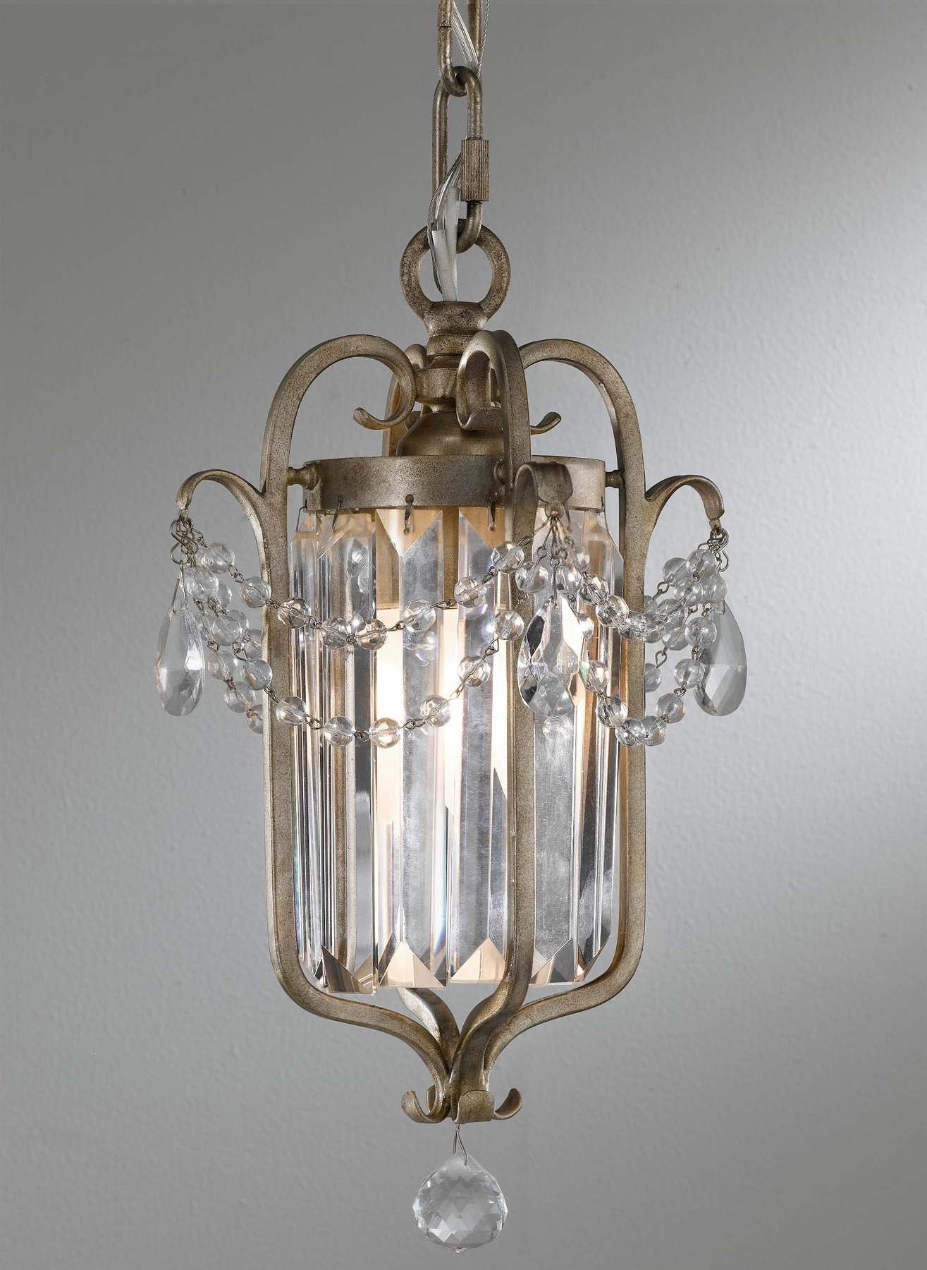 Most Current Feiss F2474/1Gs Crystal Gianna Mini Chandelier Intended For Gianna Mini Chandeliers (View 2 of 15)