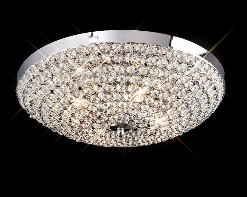 Most Current Low Ceiling Chandeliers In Low Ceiling Lighting Crystal — John Robinson Decor : Ideal Low (View 5 of 15)