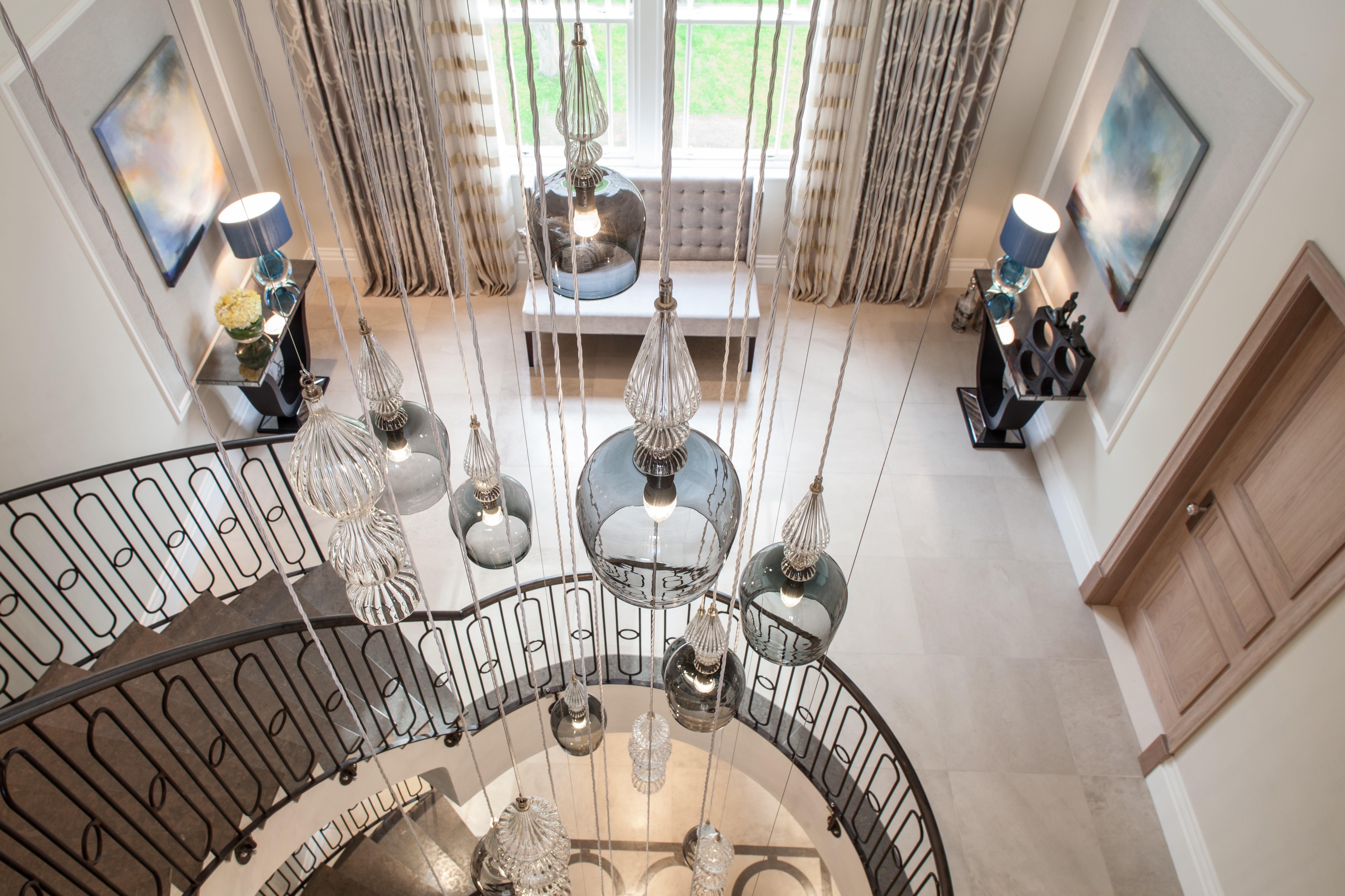 Most Current Stairwell Chandelier Within Download Images: In Situ – Rothschild & Bickers (View 5 of 15)