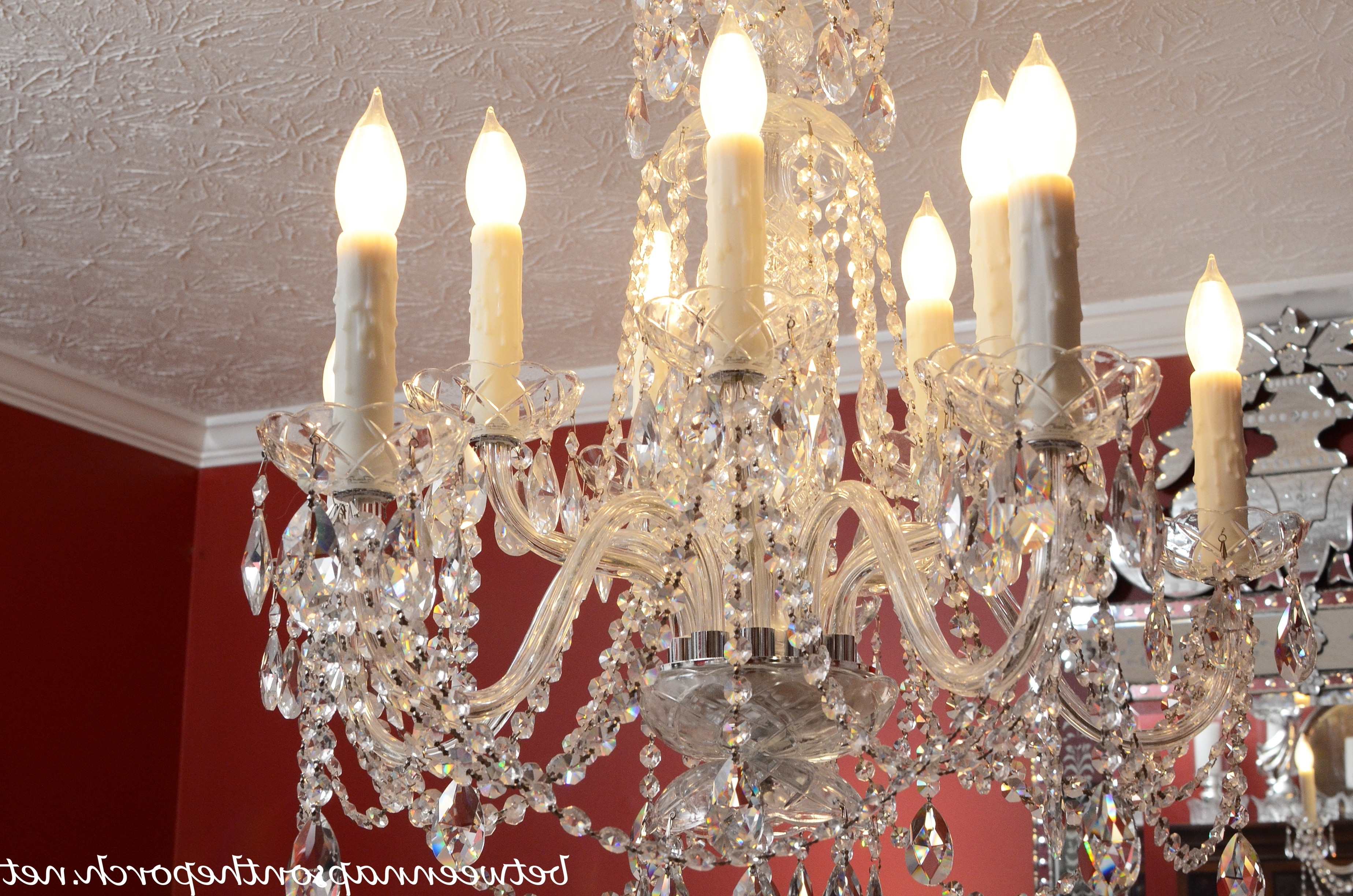 Most Current Weird Chandeliers Pertaining To Transform An Ordinary Chandelier With Resin Candle Covers And Silk (View 8 of 15)