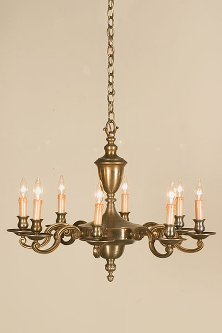 Most Popular 20 Best Antique Brass Chandeliers Images On Pinterest (View 6 of 15)
