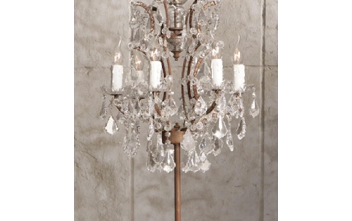 Most Popular Chandelier : Xstunning Crystal Chandelier Table Lamp Suppliers Regarding Small Crystal Chandelier Table Lamps (View 5 of 15)