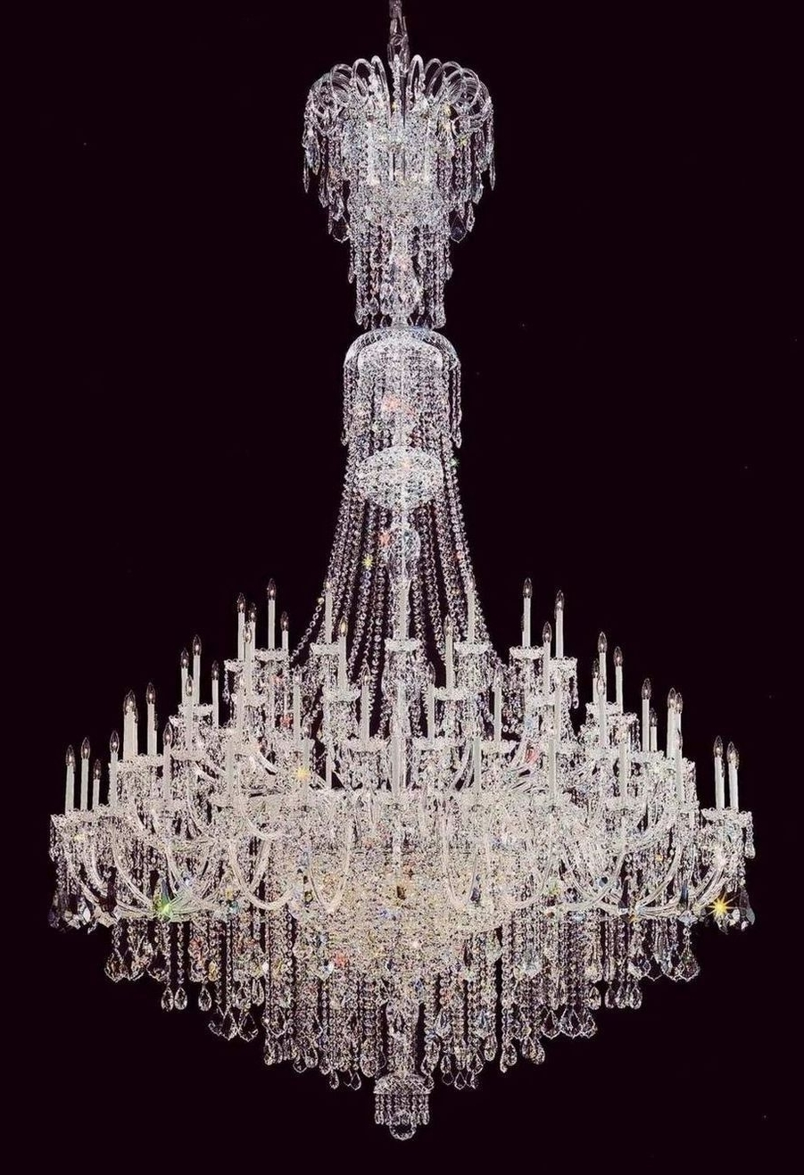 Most Popular Cheap Foyer Crystal Chandelier, Buy Quality Foyer Chandelier Throughout Large Crystal Chandeliers (View 9 of 15)