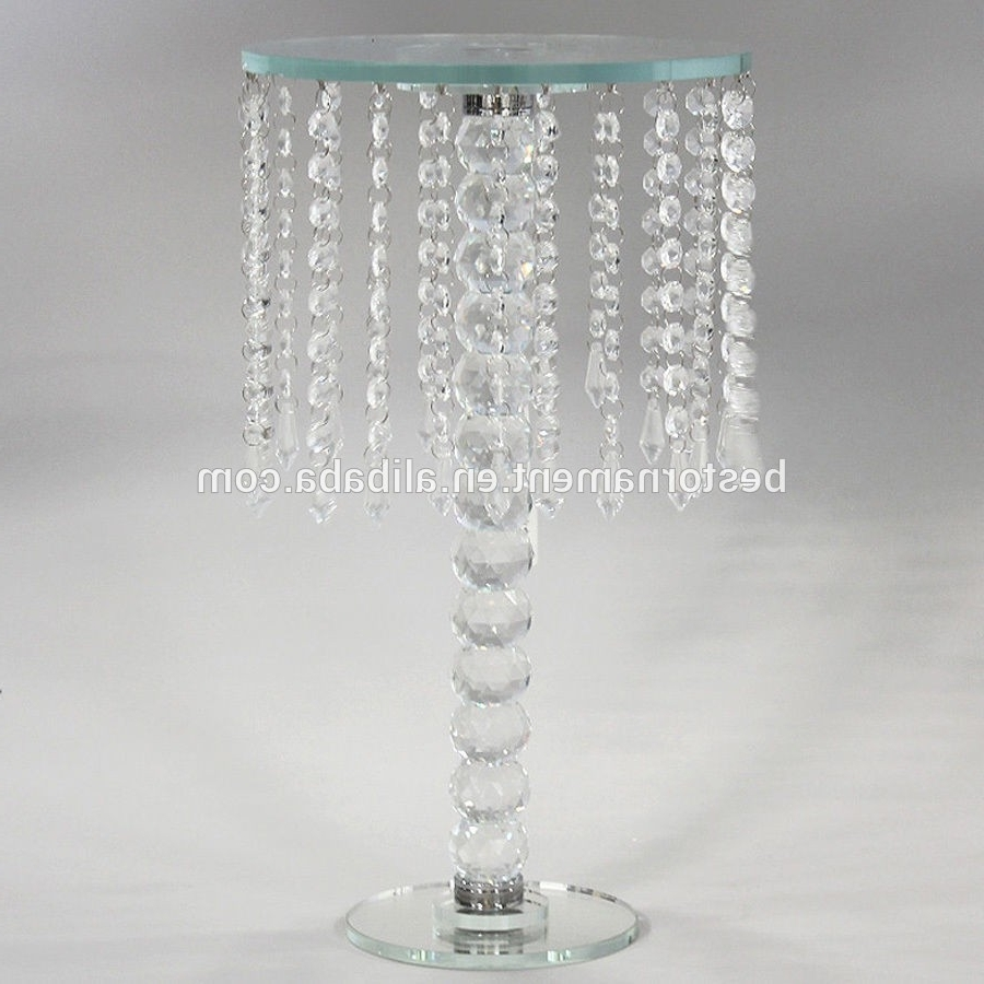 Most Popular Table Chandeliers Inside Wedding Crystal Candle Holders Vases Table Chandeliers – Buy Table (View 7 of 15)