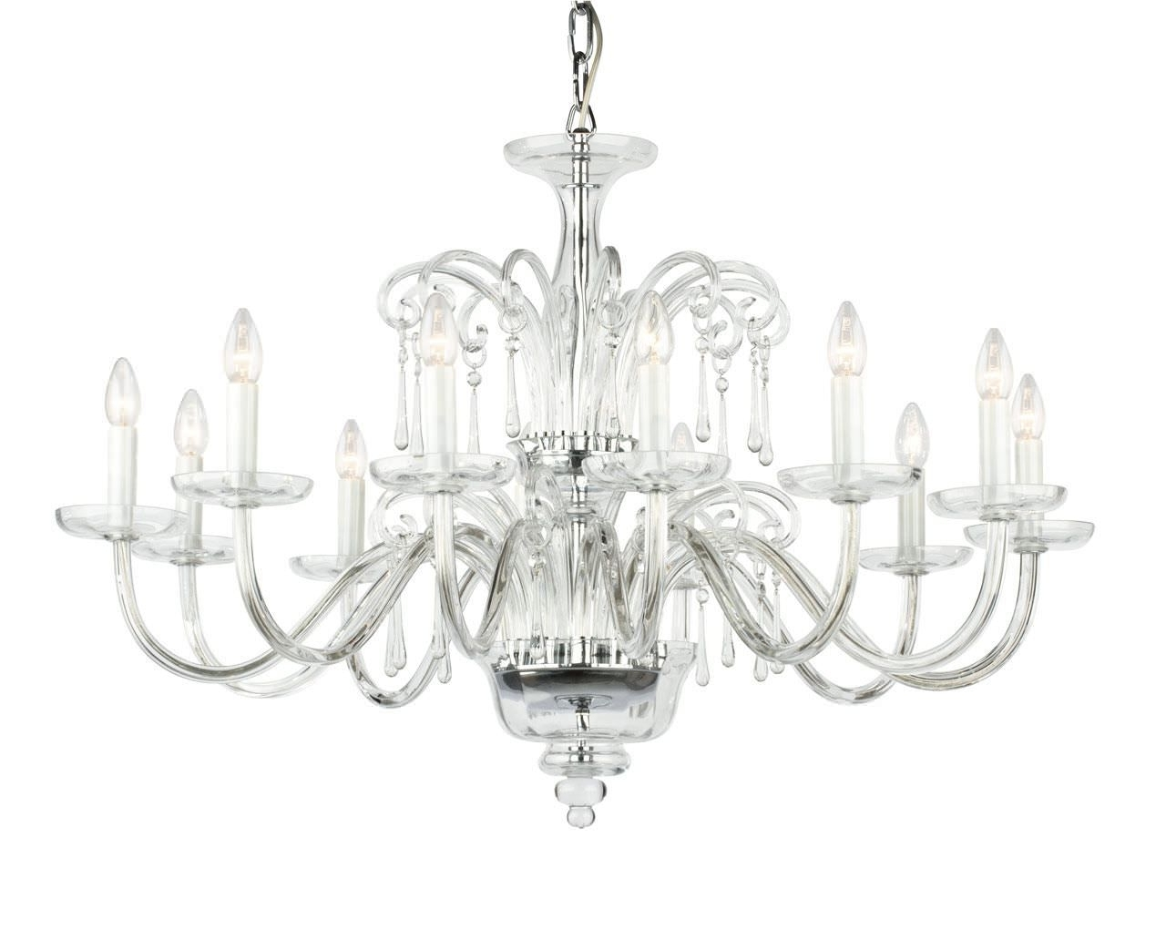 Most Popular Traditional Chandelier Within Traditional Chandelier – Clear Crystal Traditional Chandelier (View 14 of 15)