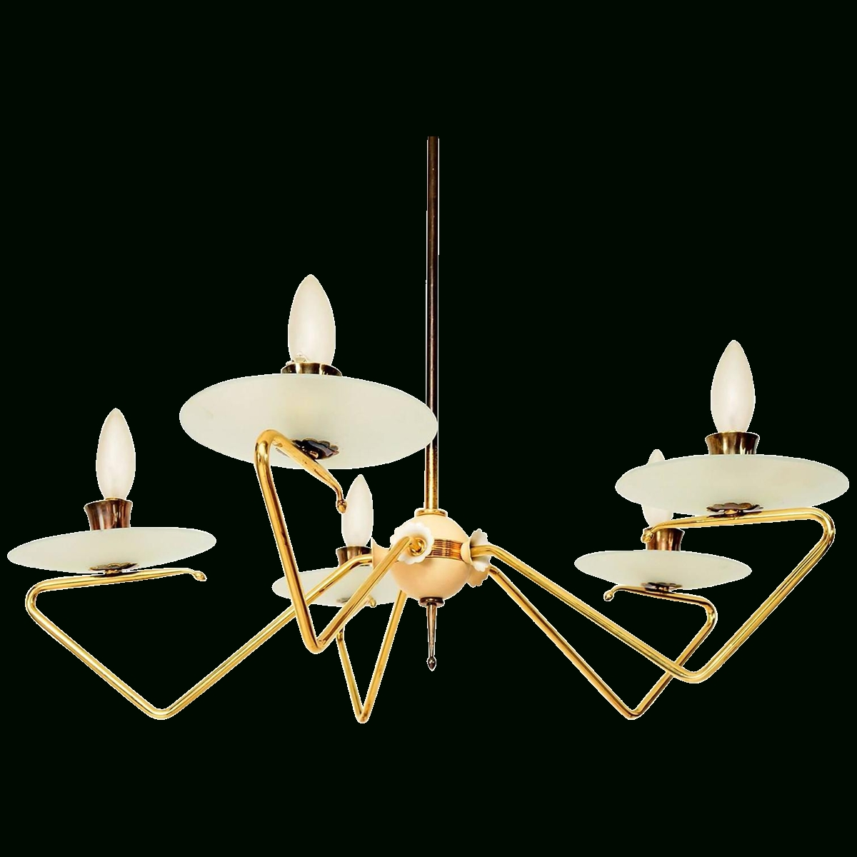 Most Popular Viyet – Designer Furniture – Lighting – Vintage Italian Mid Century Throughout Vintage Italian Chandeliers (View 6 of 15)