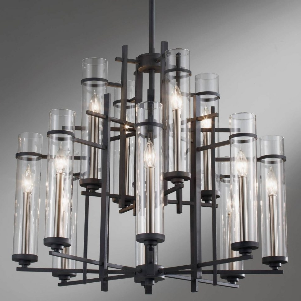 Most Recent Chandelier : Coastal Chandeliers Sconces Light Fixtures Wrought Iron With Regard To Modern Wrought Iron Chandeliers (View 11 of 15)