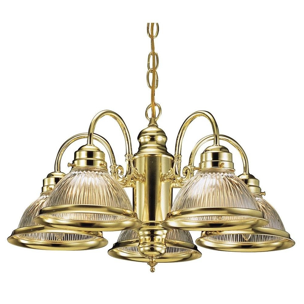 Most Recent Design House Millbridge 5 Light Satin Nickel Chandelier 511535 – The Inside Old Brass Chandeliers (View 7 of 15)