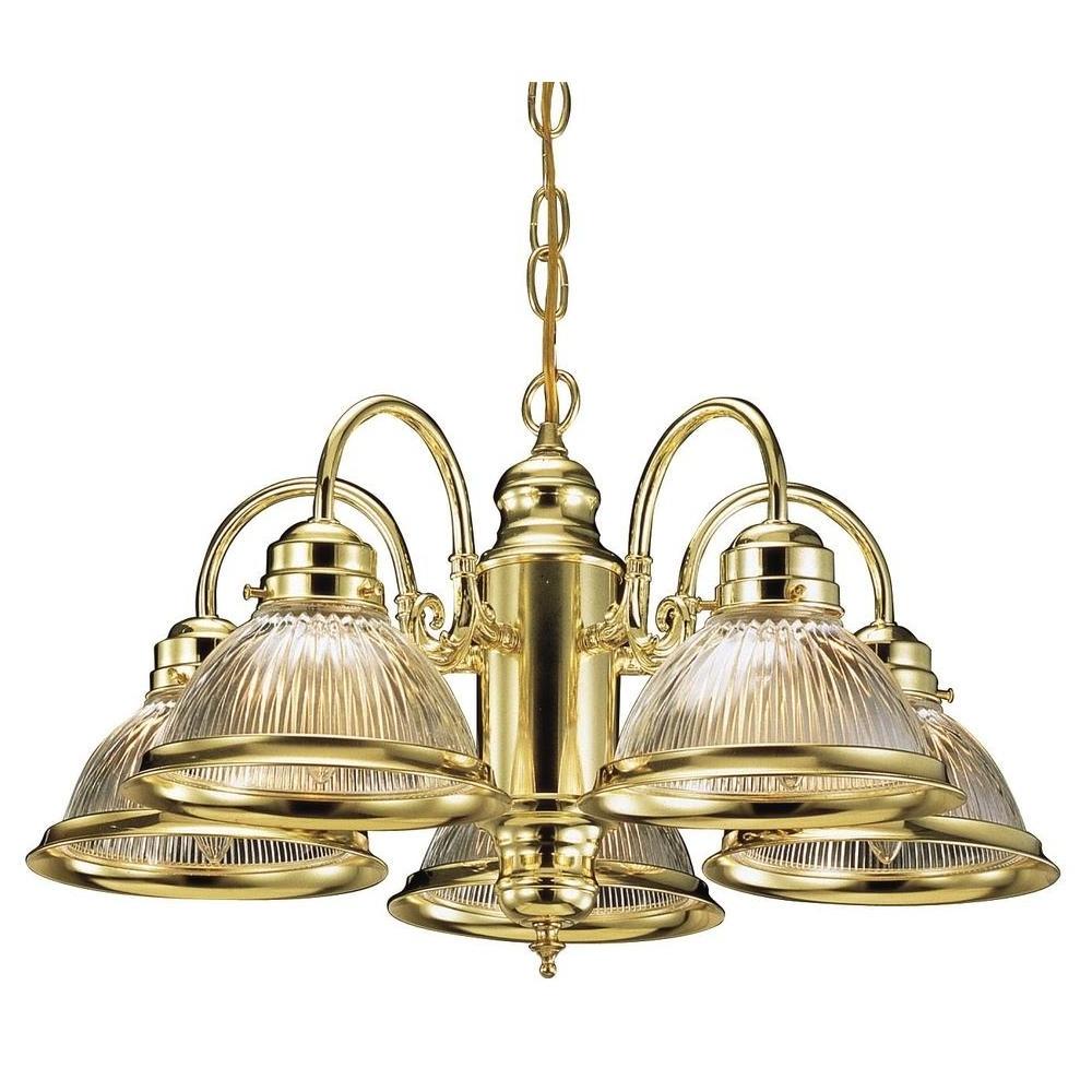 Most Recent Design House Millbridge 5 Light Satin Nickel Chandelier 511535 – The Inside Old Brass Chandeliers (View 13 of 15)