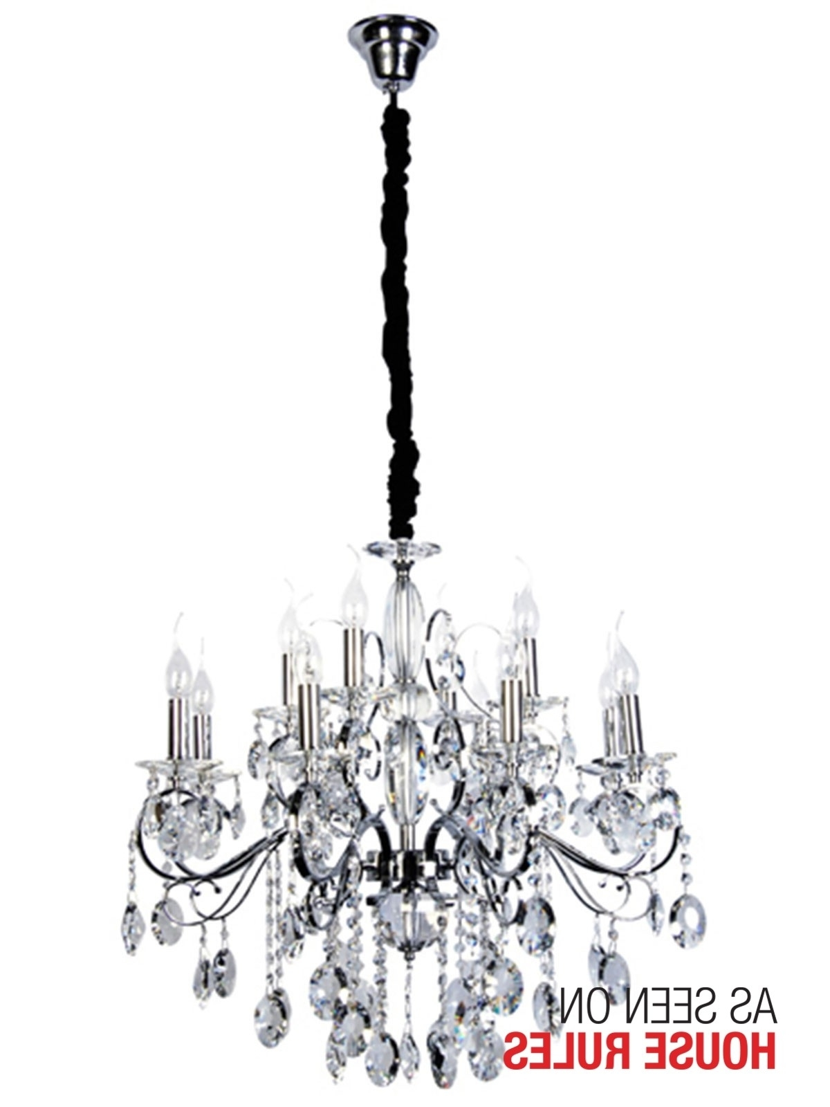 Most Recent Egyptian Crystal Chandelier Inside Madeleine Crystal Chandelier In Crystal/chrome,lighting,beacon Lighting (View 10 of 15)