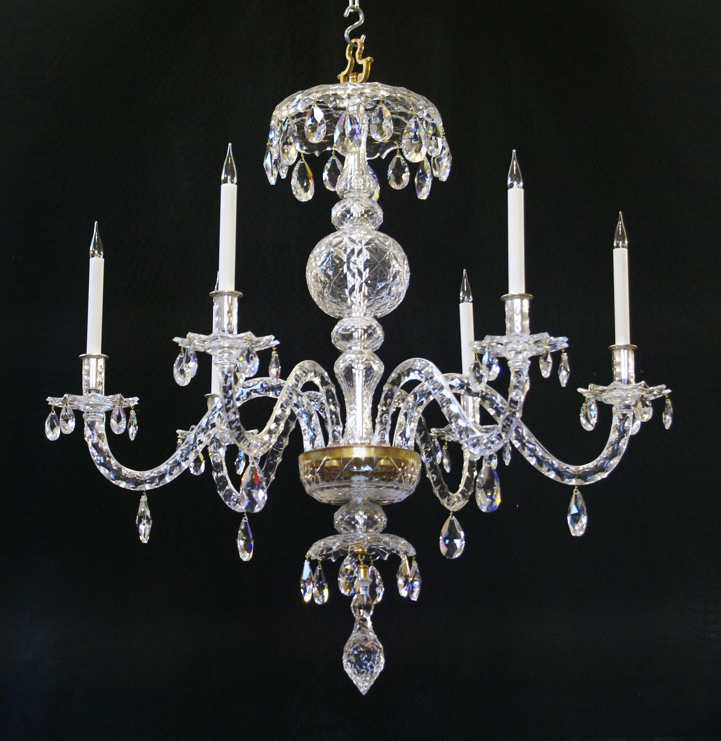 Most Recent Georgian Chandeliers In Restored Chandeliers And Lightingwilkinson Plc (View 13 of 15)