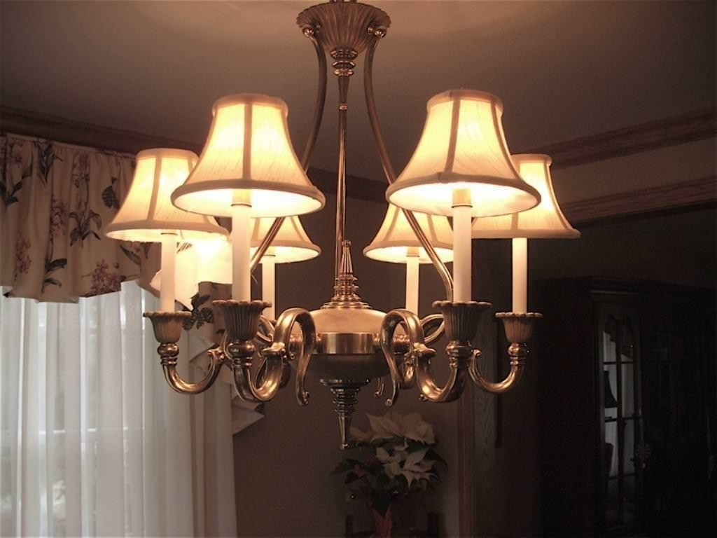 Most Recent Lamp Shades For Chandeliers Small : Lamp World With Lampshade Chandeliers (View 13 of 15)
