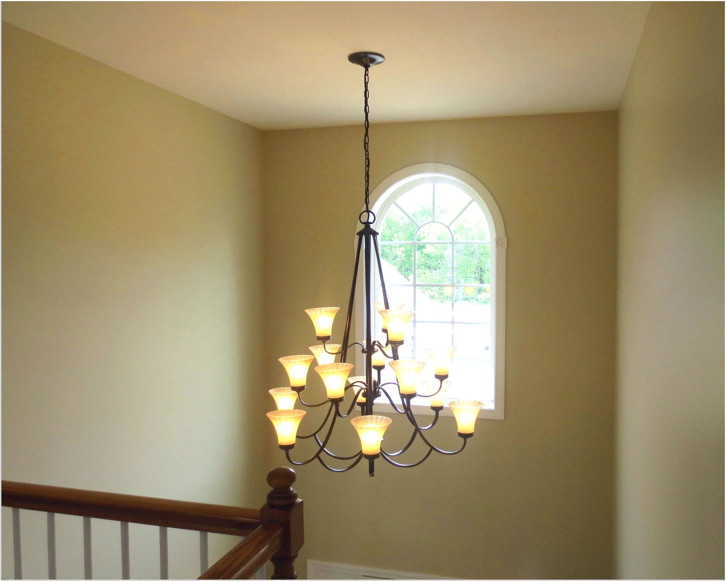 Most Recent Stairwell Chandelier Lighting Intended For Stairwell Chandelier Lighting – Chandelier Designs (View 6 of 15)