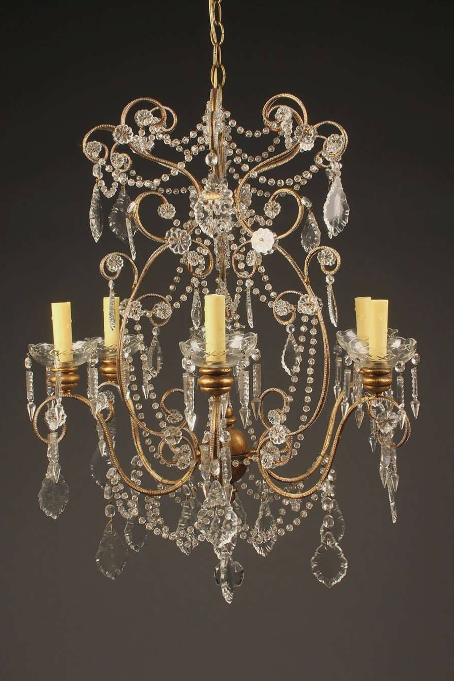 Most Recently Released 49 Examples Good Vintage Murano Glass Chandelier Ceiling Rustic In Italian Chandeliers Style (View 6 of 15)