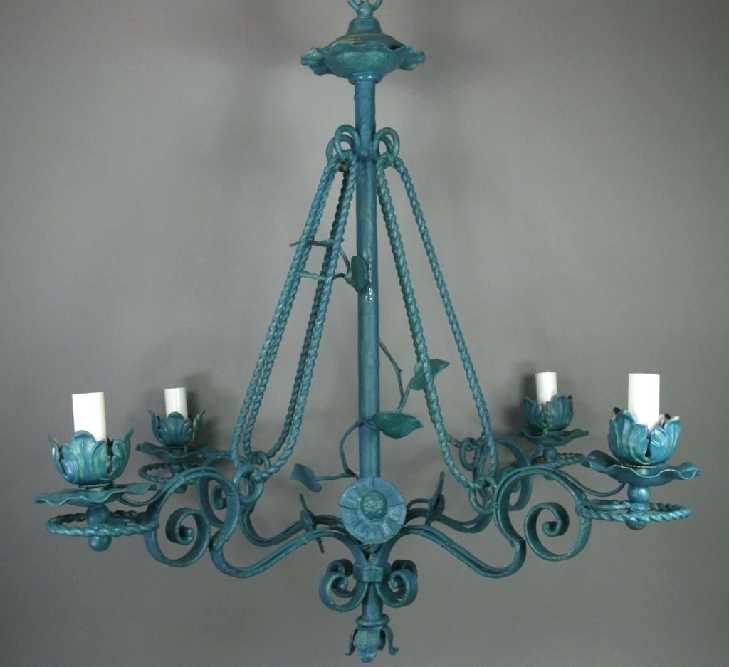 Most Recently Released Chandeliers ~ Turquoise Crystal Chandelier Earrings Turquoise Pertaining To Turquoise Chandelier Crystals (View 10 of 15)