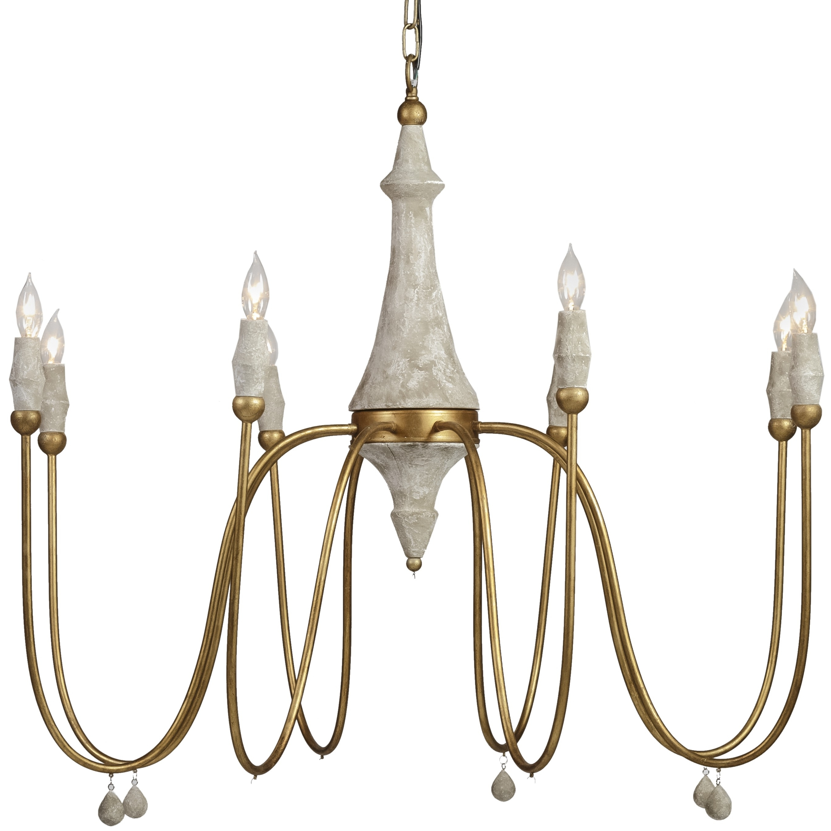 Most Recently Released Gabby Clay Chandelier (View 2 of 15)