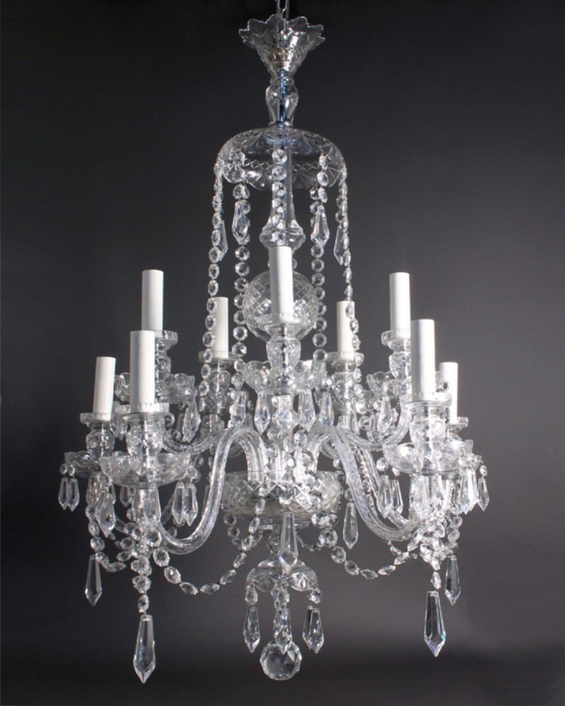 Most Recently Released Georgian Chandelier Intended For Crystal Chandelier, Antique Crystal Chandelier (View 11 of 15)