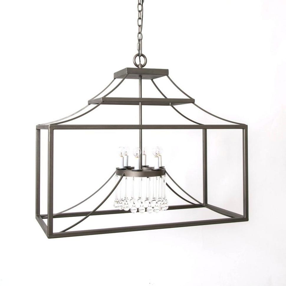 Most Recently Released Indoor Lantern Chandelier Within Chandeliers Design : Amazing Black Lantern Chandelier Iron Lanie (View 14 of 15)