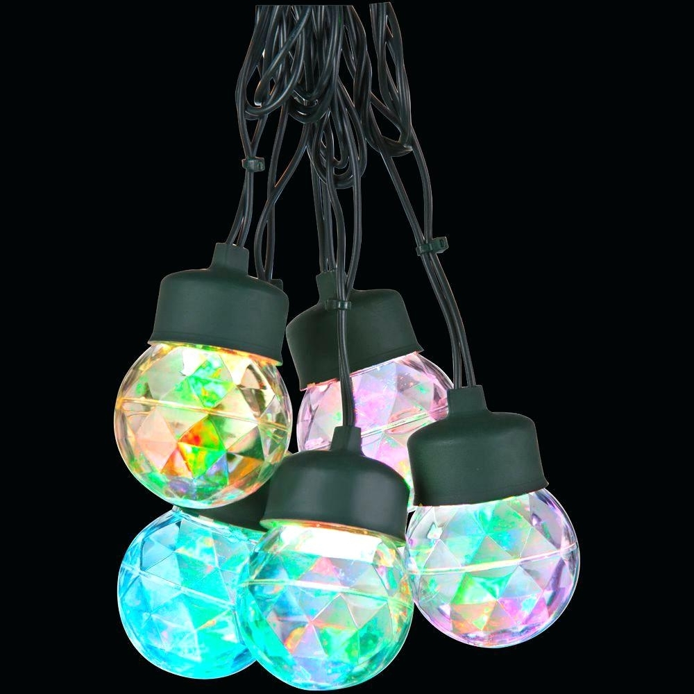 Most Recently Released Light : Ceiling Light Show Multi Color Round Projection String For Multi Colored Gypsy Chandeliers (View 15 of 15)