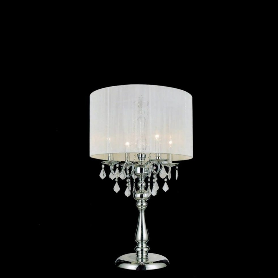 Most Recently Released Lighting : Chandelier Table Lamp Home Lighting Lamps Australia In Small Crystal Chandelier Table Lamps (View 6 of 15)