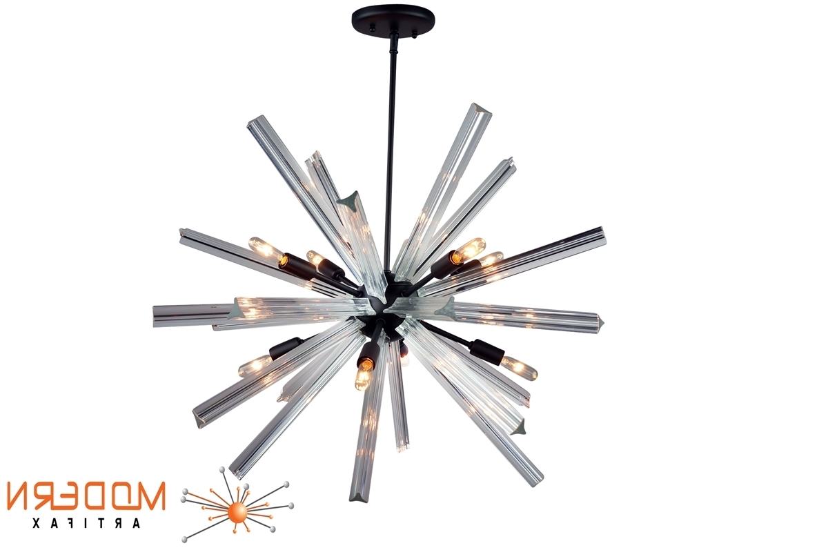 Most Recently Released Murano Chandelier Replica In Sputnik Chandelier Oil Rubbed Bronze Finish 27'' In Diameter With  (View 10 of 15)