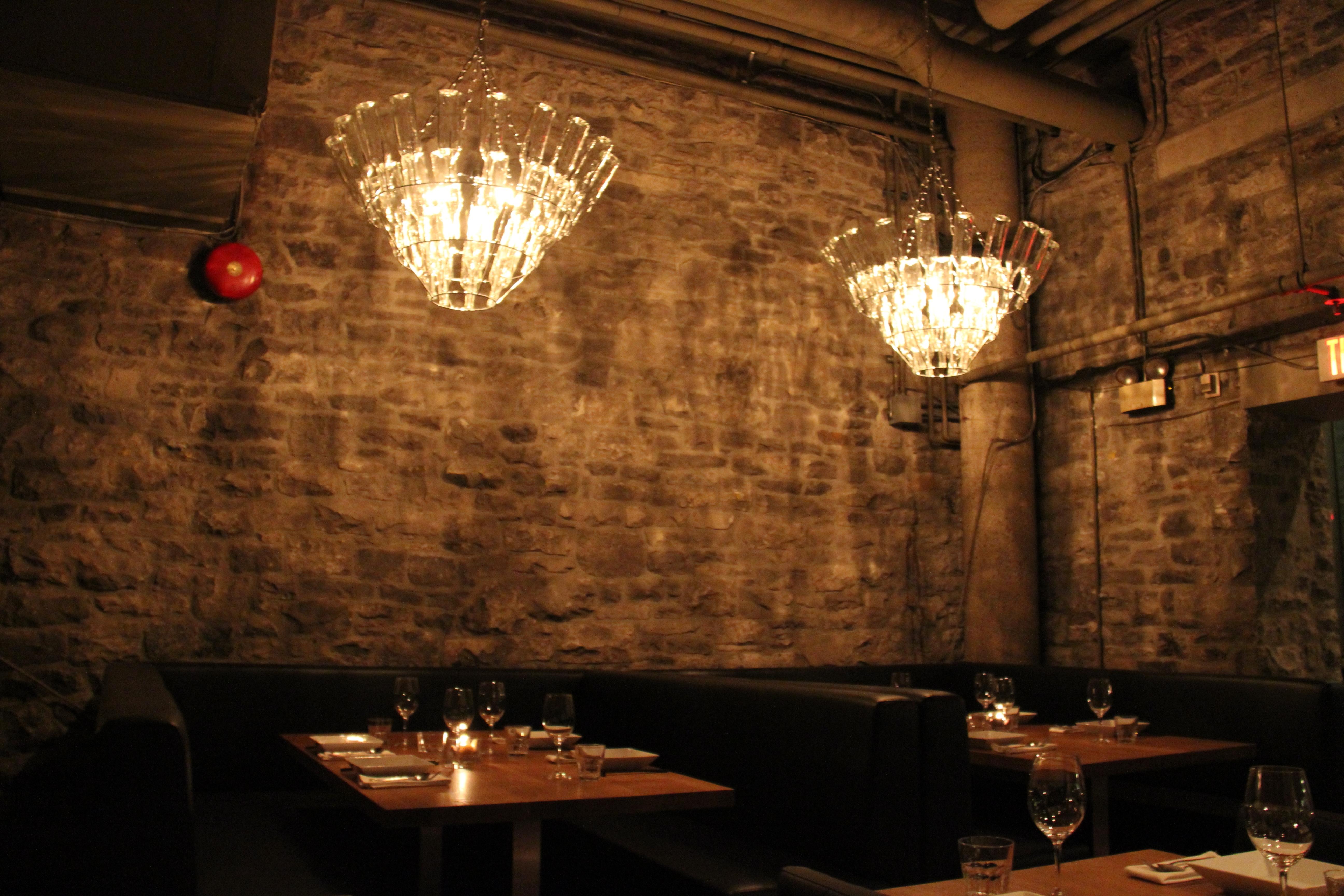 Most Recently Released Restaurant Chandelier In Sidedoor Contemporary Restaurant – Gastronomic – Ottawa (View 6 of 15)