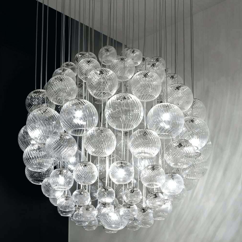 Most Recently Released Sphere Chandelier Within Light : Sphere Chandelier With Crystals Oto Sp Modern Chandeliers (View 6 of 15)