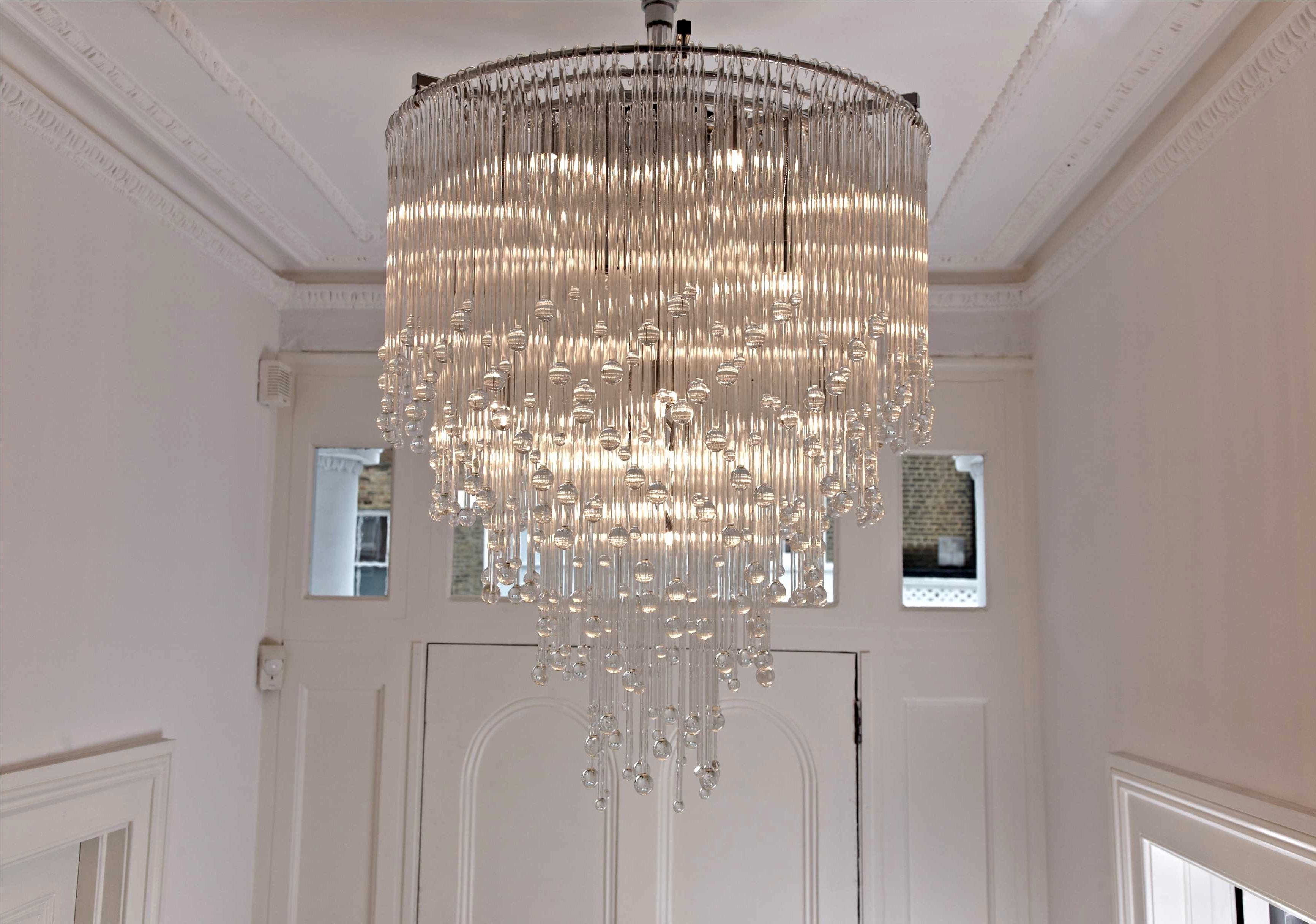 Most Recently Released Stairwell Chandelier Pertaining To 45 Fresh Stairwell Pendant Lights – Home Idea (View 9 of 15)