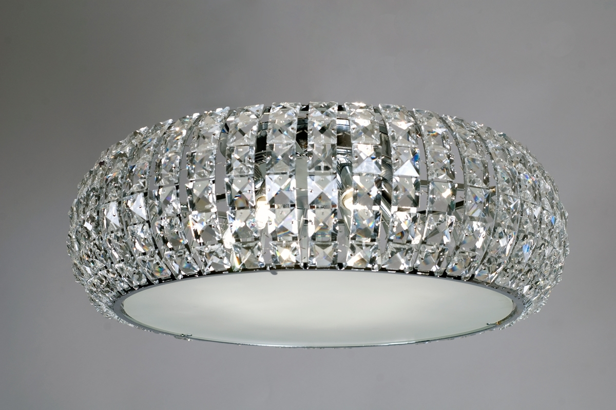 Most Recently Released Venus Six Light Crystal Ceiling Lamp (View 13 of 15)