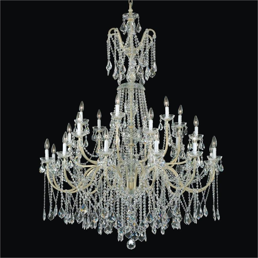 Most Recently Released Wrought Iron Foyer Chandeliers – Long Crystal Chandelier (View 15 of 15)