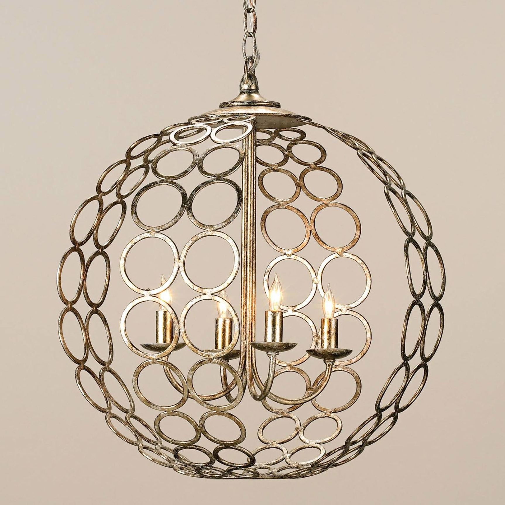 Most Up To Date And Company 9961 Tartufo Orb Chandelier Inside Orb Chandeliers (View 9 of 15)