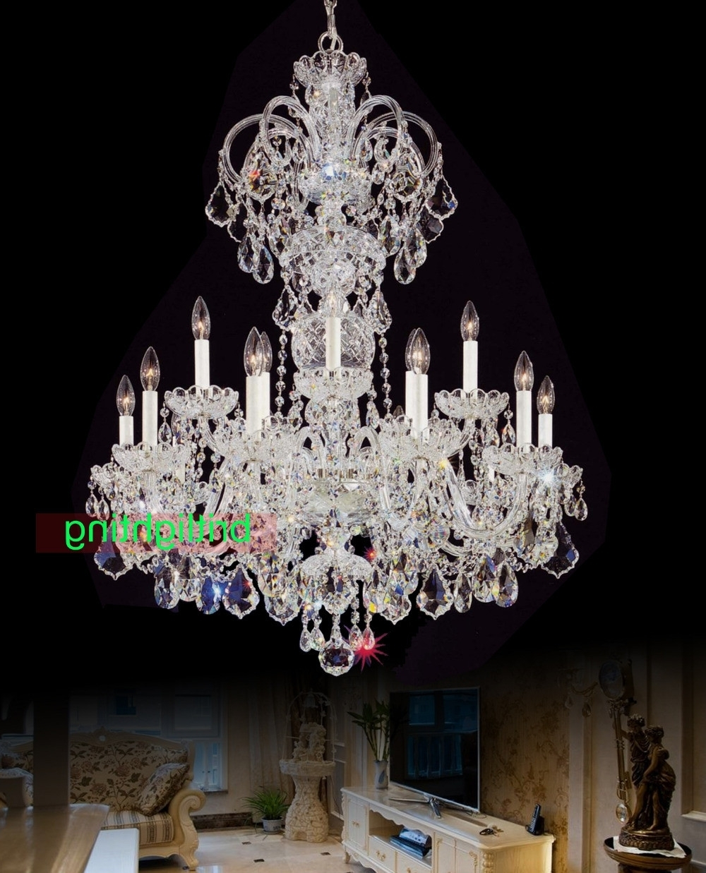 Most Up To Date Huge Crystal Chandelier With Cheap Crystal Chandeliers Awesome 12 Best Collection Of Huge Crystal (View 7 of 15)