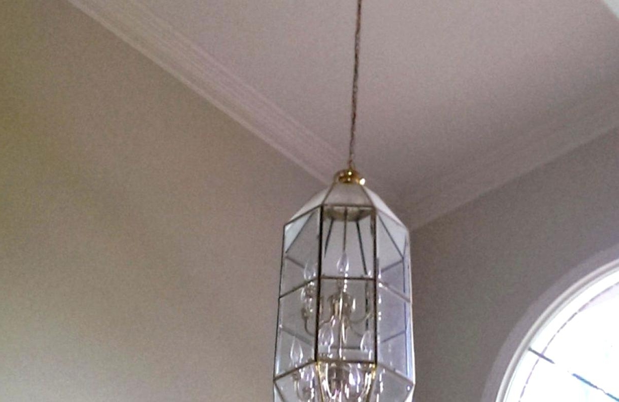 Most Up To Date Long Modern Chandelier With Lighting Remarkable Modern Foyer Chandelier Low Long Full Size Of (View 10 of 15)