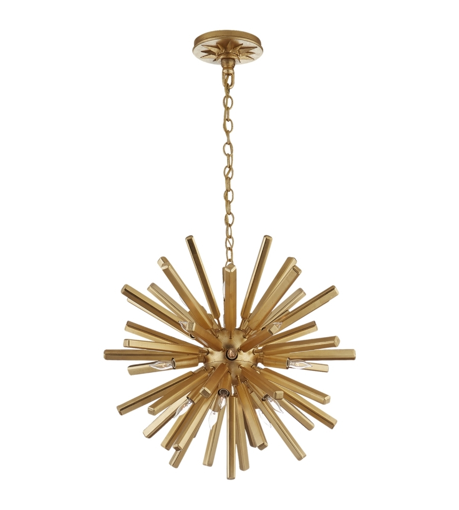 Most Up To Date Mini Sputnik Chandeliers With Regard To Visual Comfort Chc 3111G E. F (View 12 of 15)