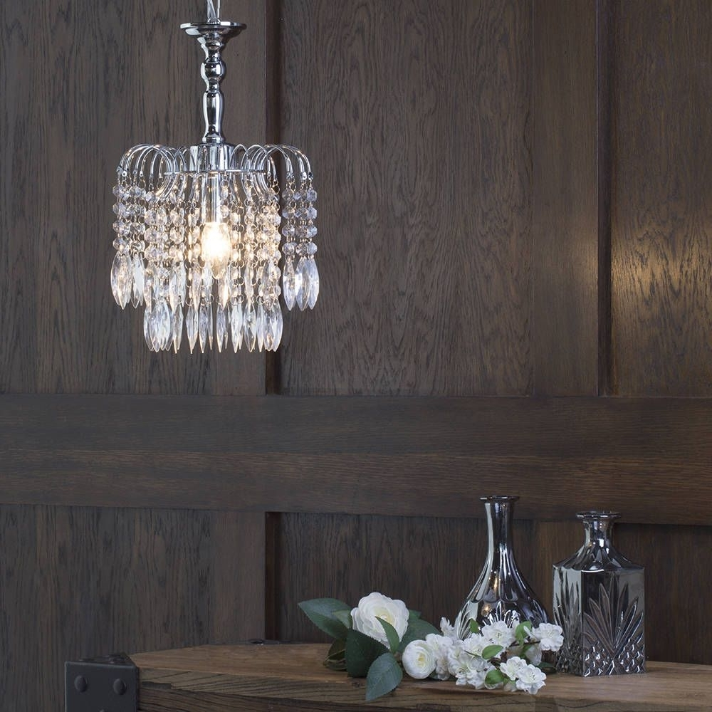 Most Up To Date Simple Glass Chandelier For Glass Chandelier (View 8 of 15)