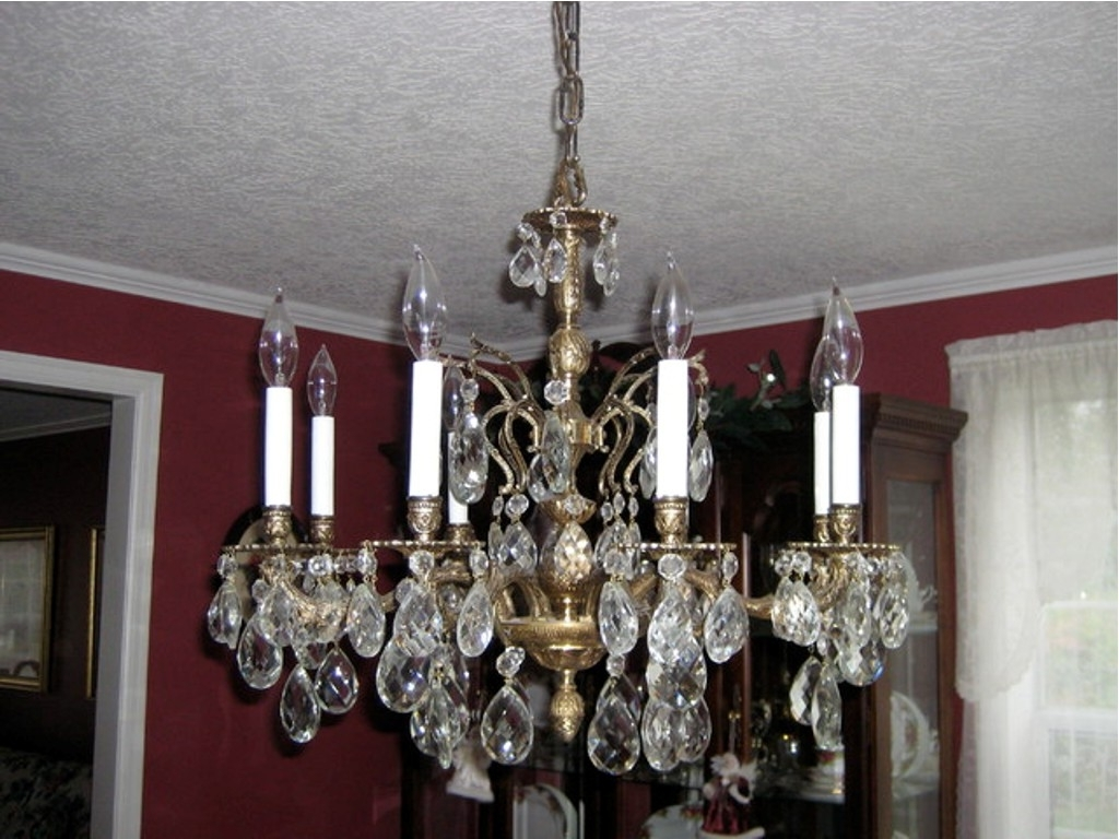 Most Up To Date Vintage Brass Chandeliers Intended For Chandelier: Amazing Brass Chandeliers 2017 Ideas Brass Chandelier (View 11 of 15)