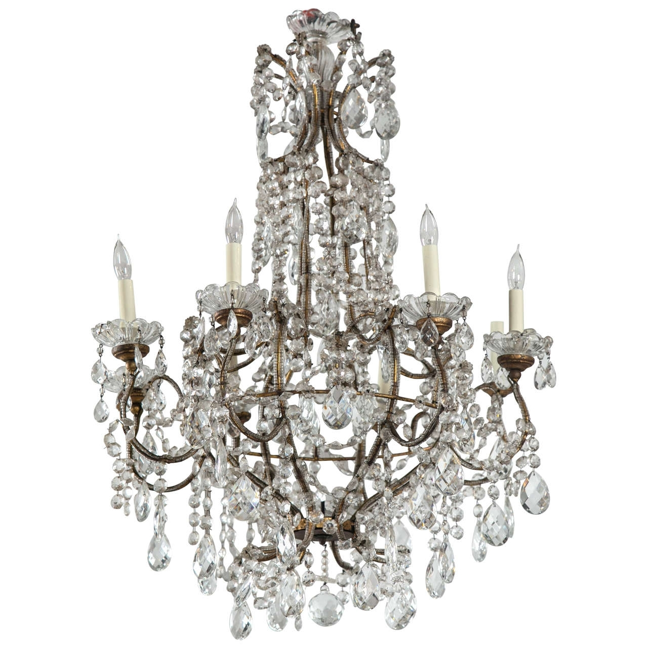 Most Up To Date Vintage French Chandeliers Pertaining To French Style Chandeliers Delectable Crystal Modern Iron Shabby Chic (View 8 of 15)